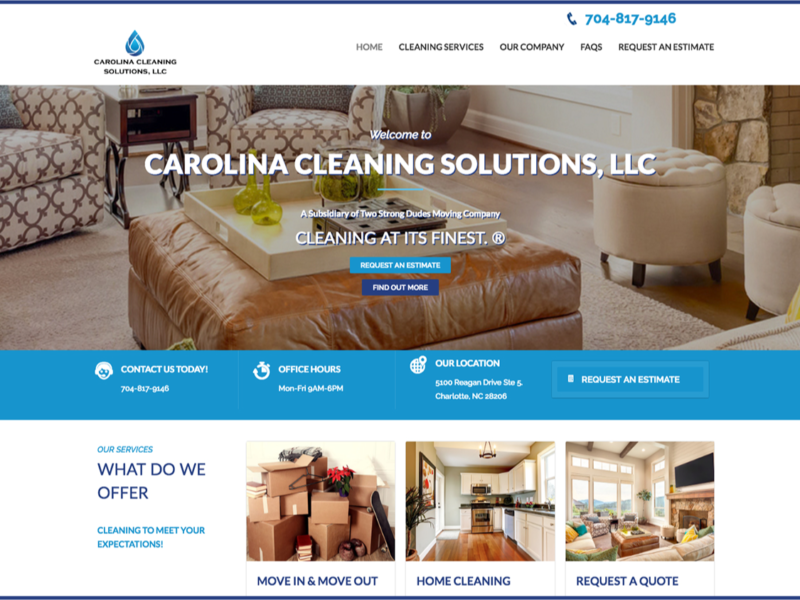 Carolina Cleaning Solutions LLC