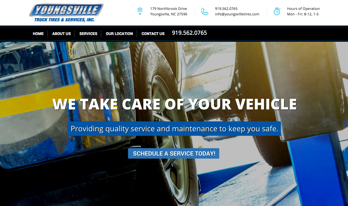 Youngsville Truck Tires and Services