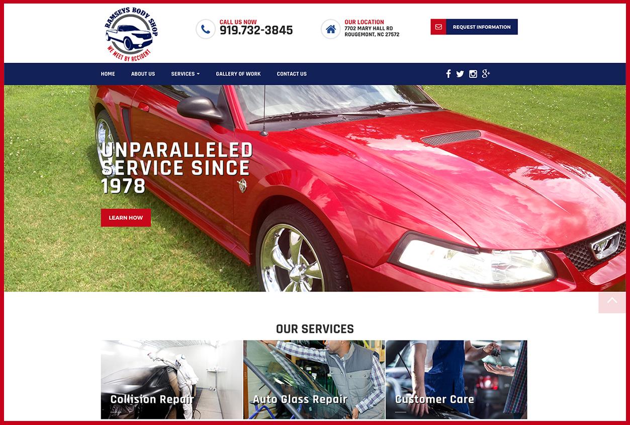 Body Shop Website Design Welcome To Premier Web Design Solutions
